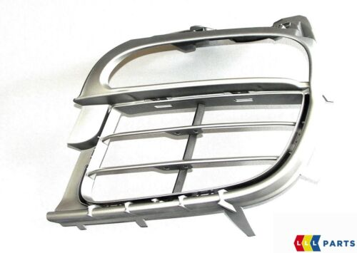 NUOVO Originale Porsche 997 C4 09-12 Paraurti Anteriore Titanio Metallico Griglia Sinistro N//S