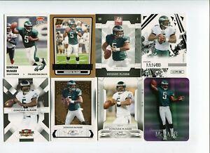 Lot cartes NFL Foot US Donovan McNabb Football Americain Eagles