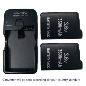 2x-New-Rechargeable-Battery-AC-DC-charger-for-Sony-PSP-110-PSP-1001-PSP-1000