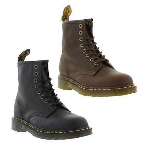 Dr-Martens-1460-Carpathian-Mens-Soft-Leather-8-Eye-Ankle-Boots-Size-7-13