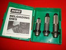 RCBS 20904 3 Die Set Rifle Reloading Dies for sale online