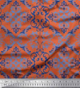 Soimoi-Fabric-Filigree-Damask-Print-Fabric-by-the-Yard-DK-44F