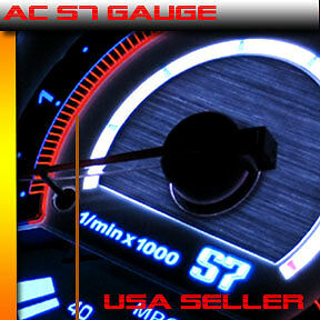 Autotechnic s7 overlay guage for 99 00 CIVIC SI MANUAL AC S7 GAUGE GAUGES