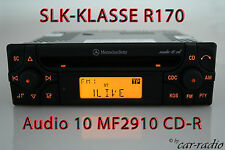Mercedes Autoradio SLK-Klasse R170 CD-Radio Audio 10 CD MF2910 Original CD-R OEM