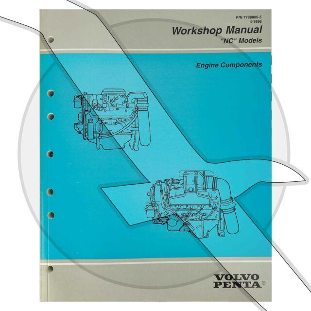 Volvo Penta 1997 Engine Components Factory Repair Service