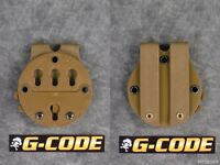 G-code Rti Holster Battle Belt Molle Mounting Platform Adapter System Coyote