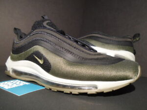 on sale 681af 9d860 NIKE AIR MAX 97 ULTRA 17 HAL HOT AIR PATCH BLACK HAZEL OLIVE GREEN ...