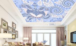 3D bluemen Muster 595 Fototapeten Wandbild Fototapete BildTapete Familie DE