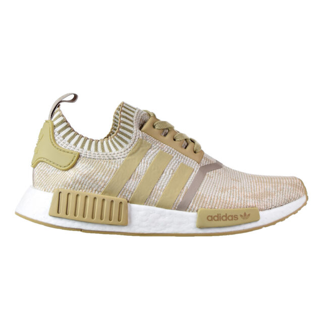 quality design ebc08 ed1cc Adidas NMD_R1 PK Men's Shoes Linen Khaki/Linen Khaki/Off White by1912