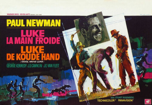 Cool hand Luke Paul Newman movie poster #7