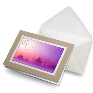 Greetings-Card-Biege-Purple-Taj-Mahal-India-Agra-2496