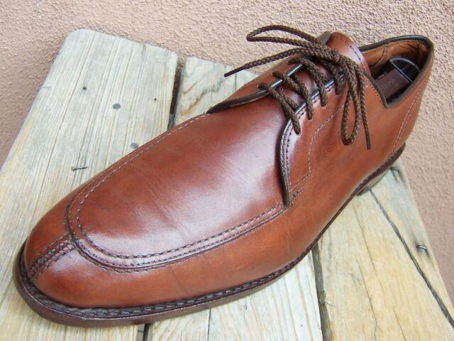 ALLEN EDMONDS Mens Dress Shoes Brown Leather Casual Lace Up Oxfords Size 11.5D