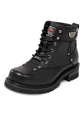 MB44526  13 Milwaukee Mens Outlaw Leather Motorcyle Boots Black  D Width HB