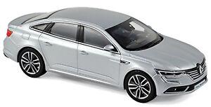 Renault-Talisman-Limousine-2016-18-placa-Silver-plata-metalica-1-43-norev