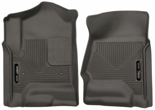For 14-17 Chevy//GMC//Cadillac Crew Cab//Extended Cocoa Husky Liners Front Liners