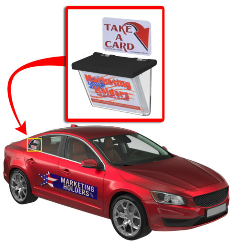 Grab a card holders for the Car Truck Van or Trailer Outdoor Box