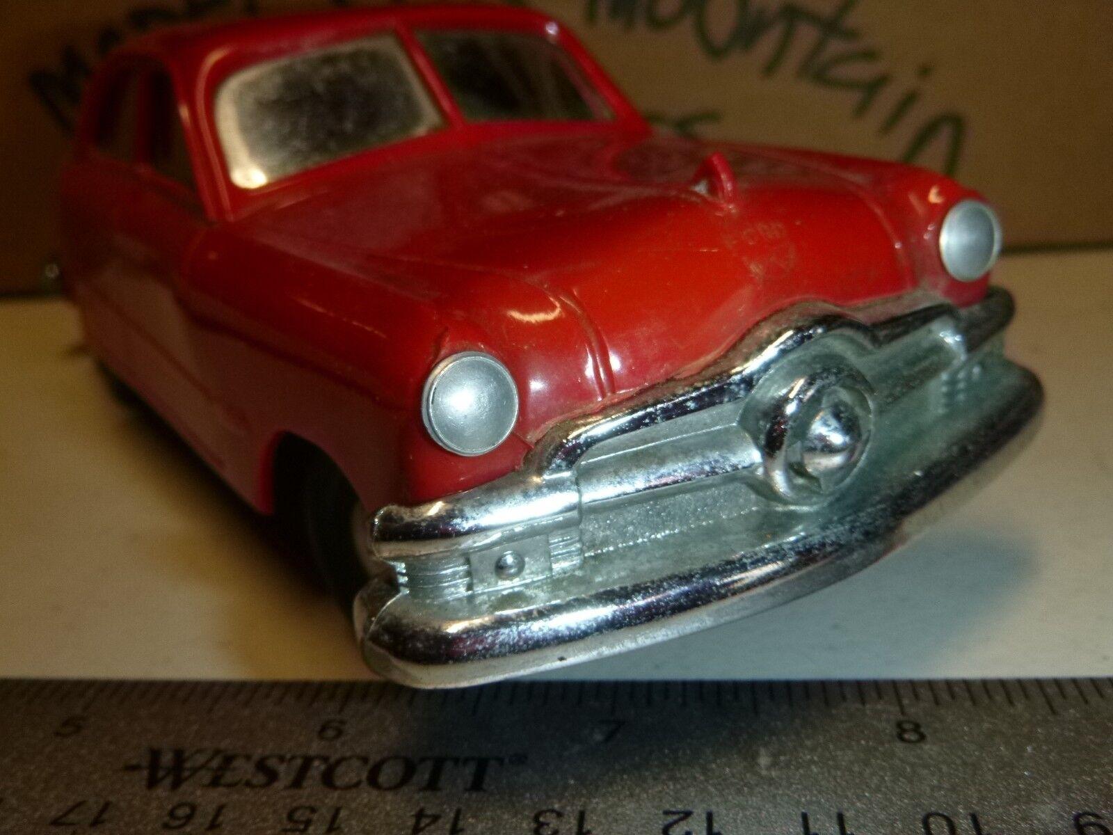B4 Amt 1950 Ford Rosso Rosso Rosso Promo Sterzabile Vintage 1 24 Vettura Mountain 781f34