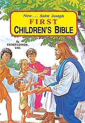 1 of 1 - First Children's Bible, Lovasik S.V.D., Reverend Lawrence G | Hardcover Book | A