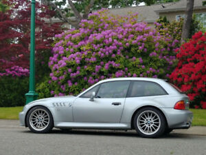 1999 BMW Z3 Coupe: Silver with red leather, 112,000km