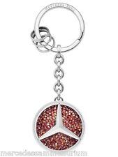 """Mercedes Benz Porte-clés Original """"Saint Tropez"""" Rouge/Argent"""