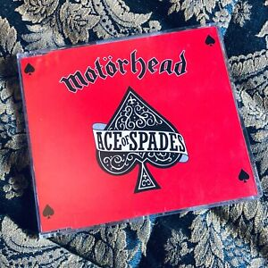 MOTORHEAD cd single ACE OF SPADES LEMMY Heavy Metal
