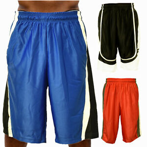 Men-Basketball-Shorts-Mesh-Quick-Dry-Gym-Fitness-Sport-Running-with-Side-Pockets