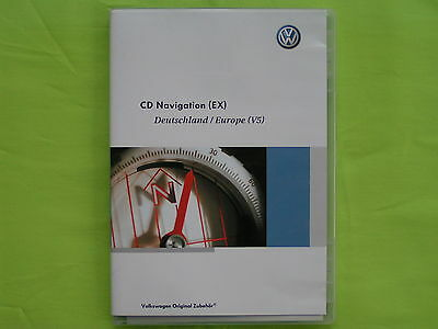 CD NAVIGATION EX DEUTSCHLAND EU 2007 V5 VW RNS 300 PASSAT 3C SEAT SKODA CRUISE