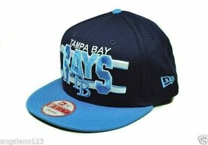 check out 28c53 7487e Image is loading NEW-ERA-Hat-9Fifty-Tampa-Bay-Rays-Men-