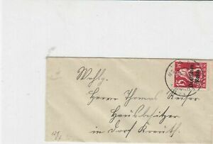 germany 1920s small stamps cover ref 21055