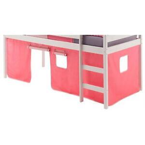 Rideaux-pour-lit-superpose-ou-lit-sureleve-coton-rose