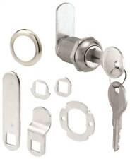 Prime Line U 9943ka Cam Lock 2 Key Die Cast Stainless Steel Face