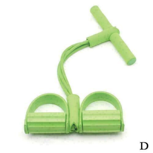 2//4 Tube Sit-up Fitness Strength Training Device Band Elastic Exercise