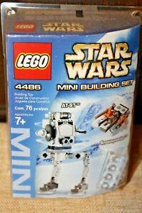 LEGO-Star-Wars-4486-AT-ST-amp-Snowspeeder-MINI-Set