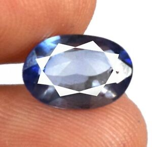 Free Give Away 2.25 Ct Blue Sapphire Oval Gemstone 100% Natural Certified A69893