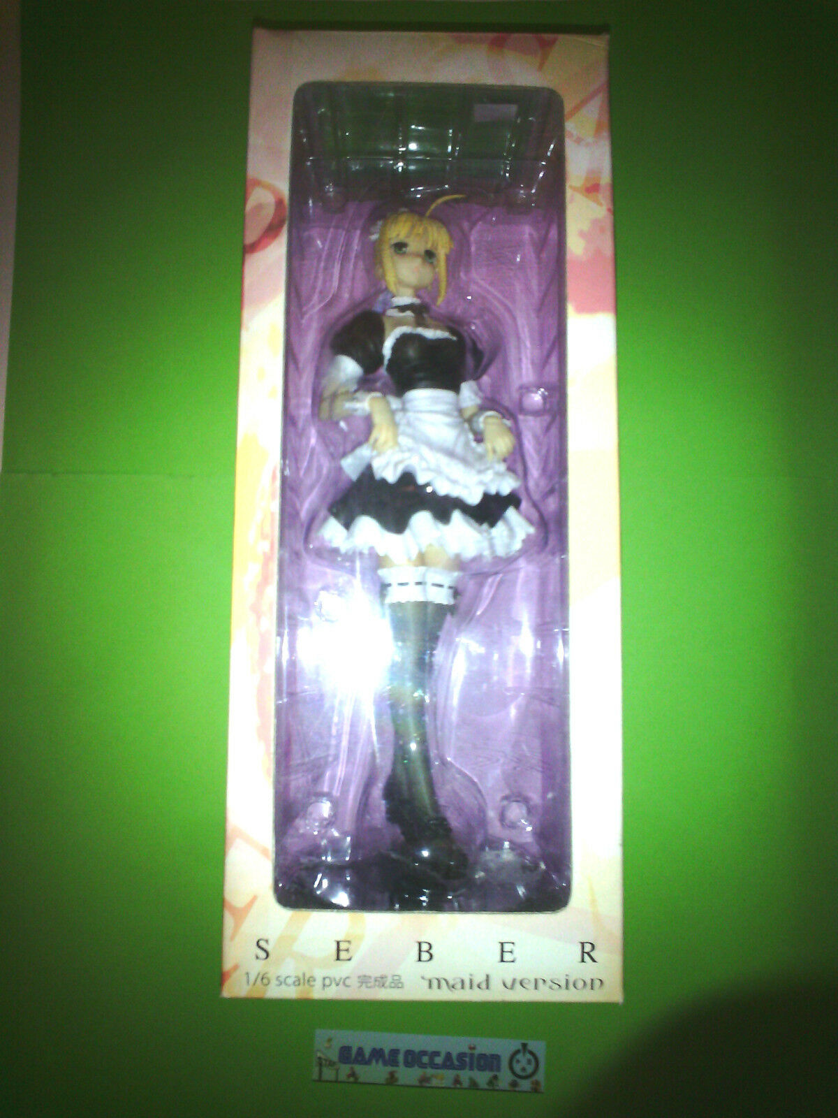 FIGURINE SEBER 1 6 SCALE PVC MAID VERSION - FATE HOLLOW ATARAXIA