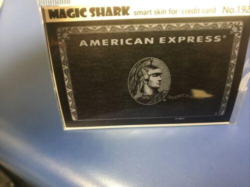 Sticker Credit Card Decal Skin Black Card Large Chip