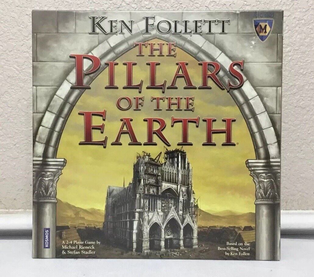 Ken Follett Pillars Of Earth Game Sealed New In Box Kosmos