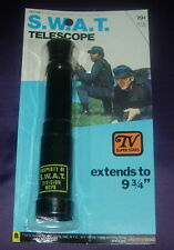 S.W.A.T.  SWAT  TELESCOPE  MOC SEALED  1975  FLEETWOOD TOYS  1970'S TV SERIES