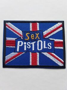 M077 Patch Patch Sex Pistols Yellow 8 5 CM