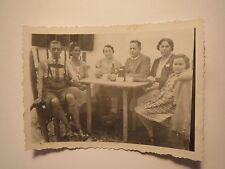 St. Christoph - am 29. August 1940 - Mann in Lederhose - Mädchen - Frauen / Foto