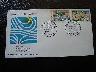 Flight Tracker Senegal - Umschlag 1. Tag 25/3/1967 (b20)