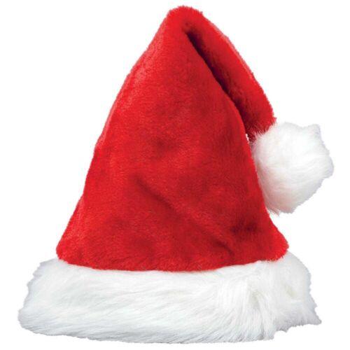 Santa Hat WHOLESALE CHRISTMAS Unisex Xmas Decoration Family Party Plush Hat