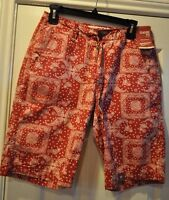 Arizona Jeans Co. Mens Classic Fit Shorts Sizes 28,29 Western Red W Tags