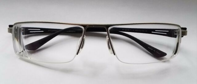 e7df66a3cd0 Porsche Design P 8157 C Eyeglasses 58-16 140 Vented Paddle Temple Italy