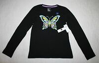 Gap Kids, Large (10), Black Knit Top With Butterfly, With Tags