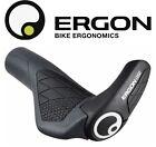 Ergon GS2 MTB Handlebar Grips w/ 2 Finger Bar End Bicycle Black Small & Large