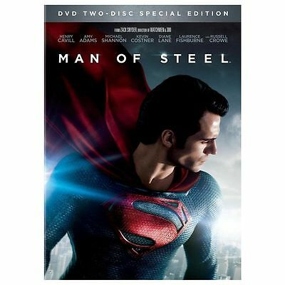 Man of Steel (DVD, 2013, 2-Disc Set, Special Edition; Includes Digital Copy;...