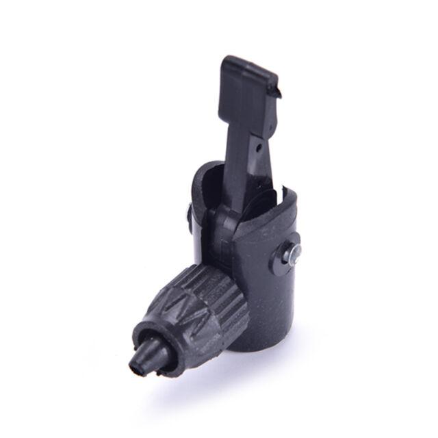 1PC Bicycle Pump Nozzle Hose Adapter black Schrader Valve Pump Accessory !jp MN