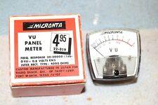 MICRONTA RADIO SHACK NEW NIB NOS 22-019 VU METER 1-3/4 inch TESTED