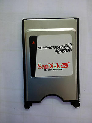 Compact Flash Card CF Reader Adapter Converter to PC Laptop PCMCIA Type I